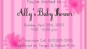 Sample Of A Baby Shower Invitation Baby Shower Invitation Sample by Partnaznkrime On Deviantart