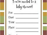 Sample Of A Baby Shower Invitation Cute Sample Baby Shower Invitations