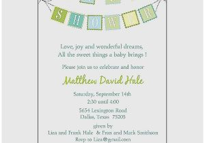 Sample Of Baby Shower Invitation Wording Baby Shower Invitation Luxury Coed Baby Shower