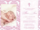 Sample Of Baptismal Invitation Baptism Invitation Sample Wording Baptism Invitation