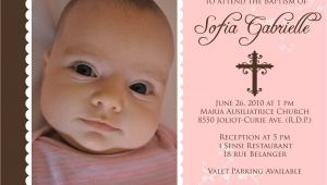 Sample Of Baptismal Invitation for Baby Girl Baptism Invitations for Girl Baptism Invitation Template