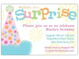 Sample Surprise Birthday Party Invitation Free Surprise Birthday Party Invitations Free Invitation