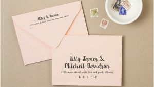 Sample Wedding Invitation Envelope Free 21 Examples Of Invitation Envelope In Psd Examples