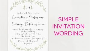 Sample Wedding Invitation Wording 15 Wedding Invitation Wording Samples From Traditional to Fun