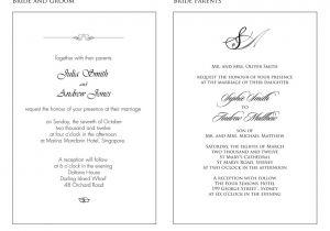 Sample Wedding Invitation Wording Best Of Wedding Invitation In English Text Wedding