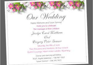 Sample Wedding Invitation Wording Informal Wedding Invitation Wording Samples Wordings and