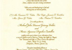 Sample Wedding Invitation Wording Sample Wording for Wedding Invitations Template Best