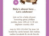 Sample Wording for Baby Shower Invitations Samples Baby Shower Invitations Wording