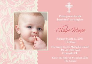 Samples Of Baptism Invitations Baptism Invitation Card Baptism Invitation Card