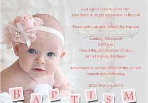 Samples Of Baptism Invitations Baptism Invitation Wording Samples Wordings and Messages