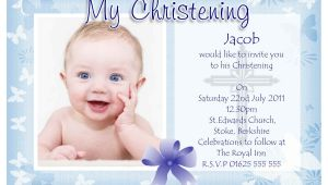 Samples Of Baptismal Invitation Cards Baptism Invitation Baptism Invitations for Boys New