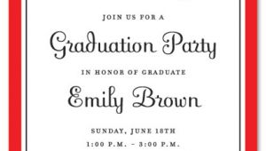 Samples Of Graduation Party Invitations Graduation Party Invitations Party Ideas