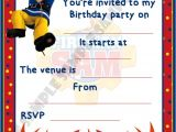 Sams Club Party Invitations Fireman Sam Birthday Party Invitations Invites by Shazian