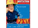 Sams Club Party Invitations Fireman Sam Party Invitations Fireman Sam From All You