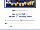 Sams Club Party Invitations Personalised Fireman Sam Party Invitations X 10 Ebay