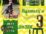 Sams Club Party Invitations Sam 39 S John Deere Birthday Invitation John Deere