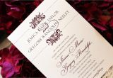 Sangria Color Wedding Invitations Brides Birthdays and Babies Blog by Tiger Lily Invitations