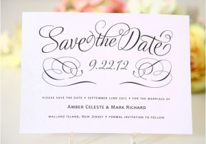 Save the Date and Wedding Invitation Packages Save the Date and Wedding Invitation Packages Invi On