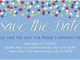 Save the Date Invitation Wording for Birthday Party Free Save the Date Invitations and Cards