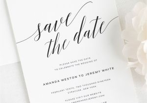 Save the Date Vs Wedding Invitations Daring Romance Save the Date Cards Save the Date Cards