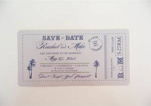 Save the Date Vs Wedding Invitations Kindly R S V P Designs 39 Blog Passport Save the Date