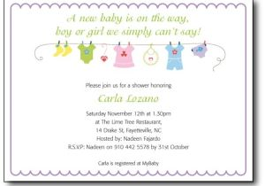Sayings for Baby Shower Invites Baby Shower Invitation Wording Template Best Template