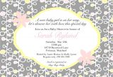 Sayings for Baby Shower Invites Wording for Baby Shower Invitations asking for Gift Cards