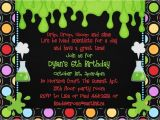 Science themed Party Invitations Mad Science Birthday Party Invitations