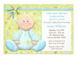 "Scrapbook Baby Shower Invitations Scrapbook Style Baby Shower Invitation 5"" X 7"" Invitation"