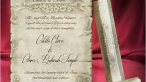 Scroll Wedding Invitation Template Free 40 Creative Wedding Invitation Cards You Need to See for