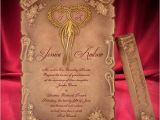 Scroll Wedding Invitations with Rsvp Cards Scroll Wedding Invitation Card Creative Personalized