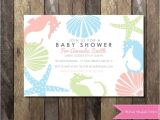Sea themed Baby Shower Invitations 41 Best Mermaid Baby Shower Images On Pinterest