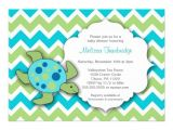 Sea Turtle Baby Shower Invitations Cute Sea Turtle Baby Shower Invites Neutral Gender