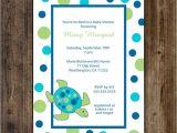 Sea Turtle Baby Shower Invitations Sea Turtle Baby Shower Invitation Print Your by