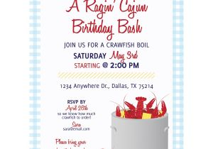 Seafood Boil Party Invitations Crawfish Boil Invitation Kateogroup
