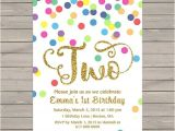Second Birthday Party Invitations Best 25 2nd Birthday Invitations Ideas On Pinterest