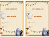 Secret Life Of Pets Party Invitations Musings Of An Average Mom Free Secret Life Of Pets Party
