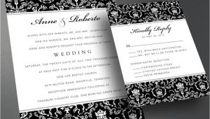 Self Made Wedding Invitations Wedding Invitation Pdf Printable Wedding Invitation Diy