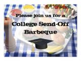 Send Off Party Invitation Message College Football E Cards