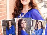 Senior Graduation Invitations 2015 Senior Graduation Announcement 2015 Digital Blue Banner