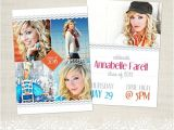 Senior Graduation Invitations 2015 Senior Graduation Announcement Template for Photographers