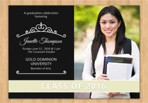 Senior Graduation Invites Senior Graduation Announcement V196 Flyer Templates
