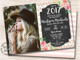 Senior Graduation Party Invitations 17 Best Images About Class Of 2018 On Pinterest Grad