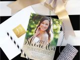 Senior Graduation Party Invitations Sparkling Senior Graduation Party with Shutterfly Kristi