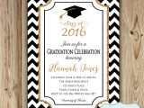 Senior Party Invitations Graduation Party Invitation College by Heartsandcraftsy On