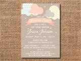 Sent From Heaven Baby Shower Invitations Heaven Sent Baby Shower Invitation Gender Neutral Baby
