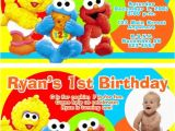 Sesame Street Party Invitations Personalized Sesame Street Party Invitations Personalized Oxsvitation Com