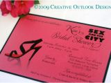 Sex and the City Bridal Shower Invitations Creative Outlook Designs In the City Bridal Shower