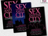 Sex In the City Bridal Shower Invitations and the City Invitation by Metroevents On Etsy