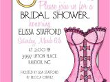 Sexy Bridal Shower Invitations Pink Lingerie Bridal Shower Invitation 5×7 You Print